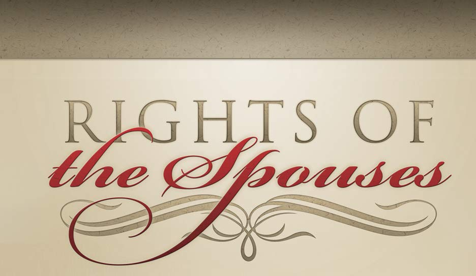 Rights of the spouse
